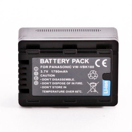 Bateria VW-VBK180 para Panasonic C HC-V10 HC-V100 SDR-T70 SDR-T51 SDR-S45 SDR-H85
