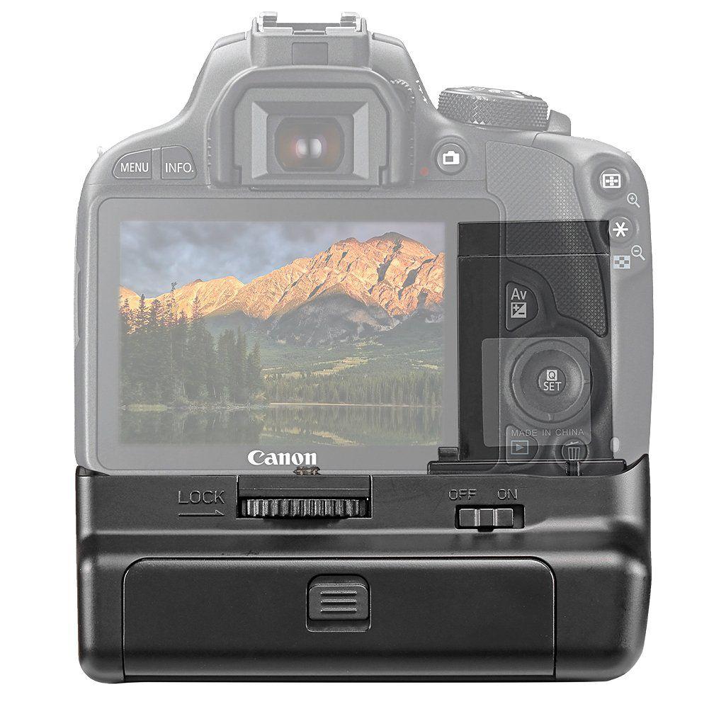 Battery Grip 100DH para câmera Canon EOS 100D Rebel SL1