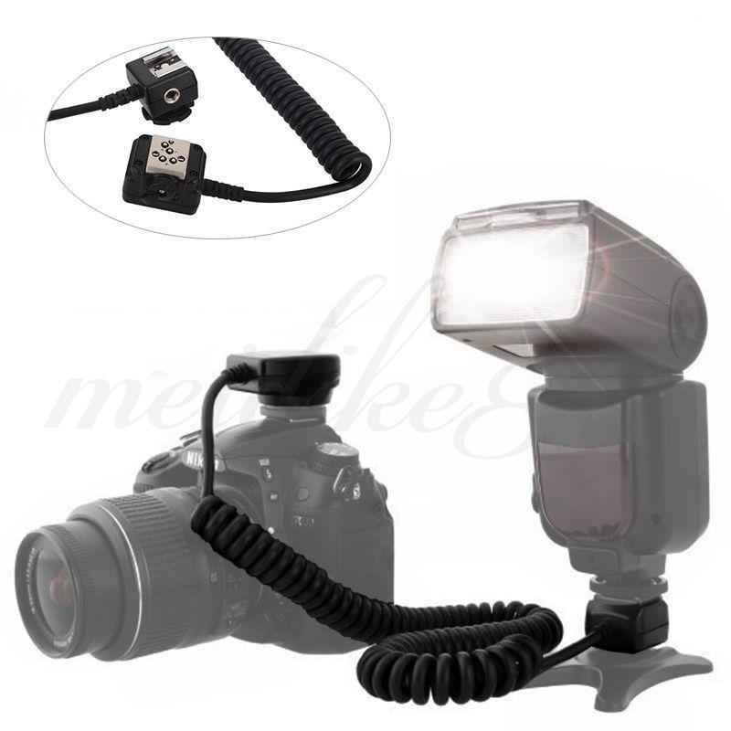 Cabo SC-28 Off Camera Shoe Cord para flash TTL Nikon SB-600, SB-700, SB-900, SB-910, SB-500