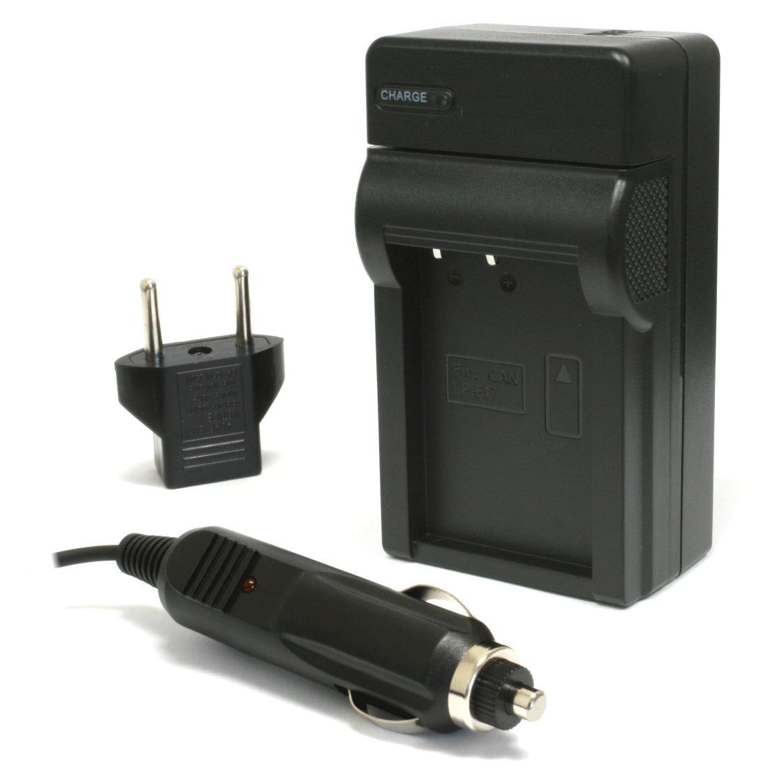 Carregador de Bateria LP-e17 para Canon EOS Rebel T6i and T6s DSLRs