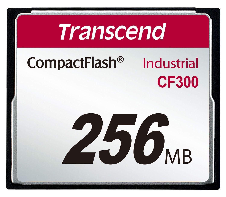 Cartão de memória CompactFlash Transcend 256MB TS256MCF300 300x Industrial