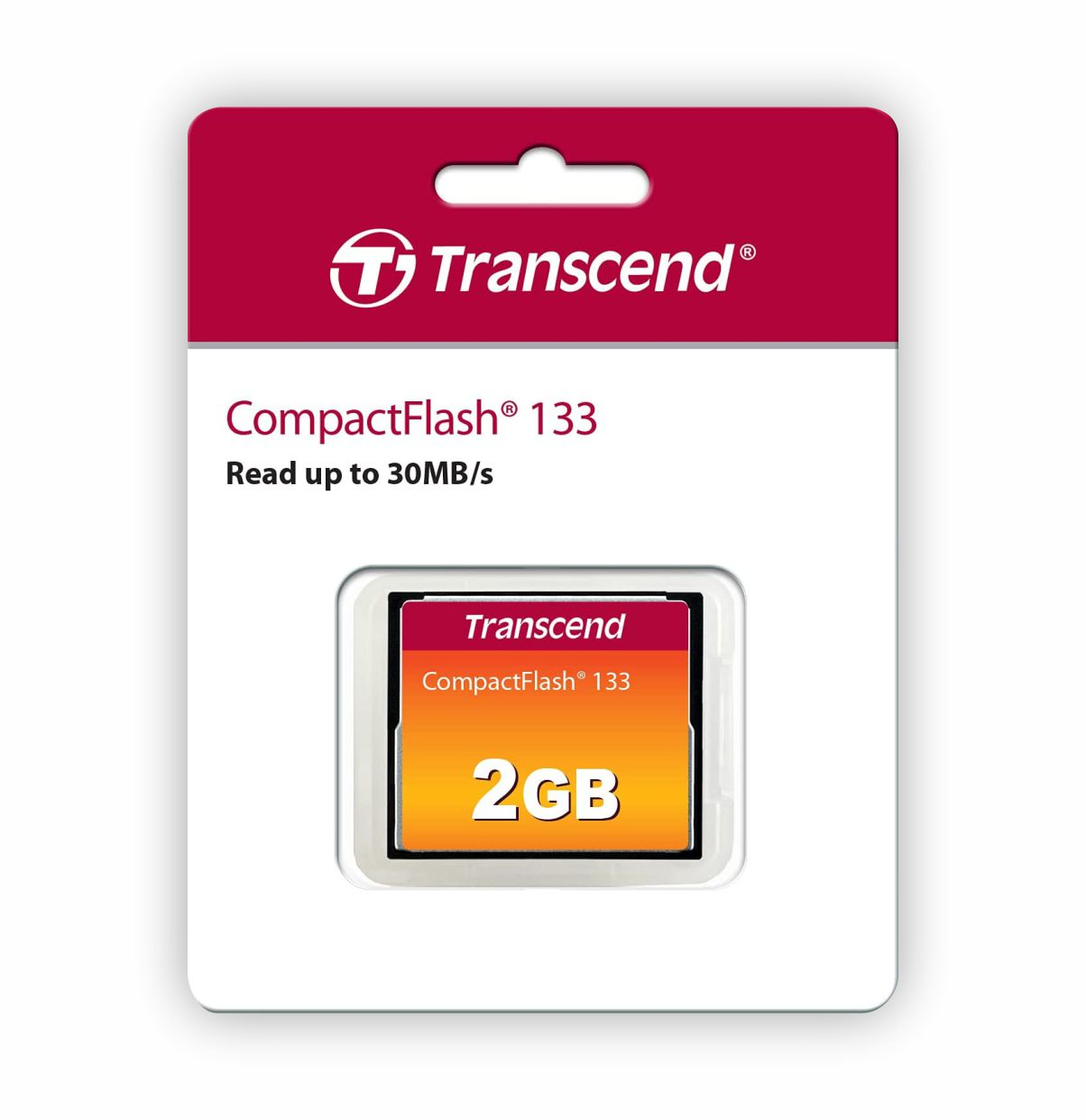 Cartao Memoria Compact Flash CF 2GB Transcend 133x