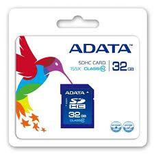 Cartao Memoria Sdhc 32GB Class 10 Adata ASDH32GUICL10-R