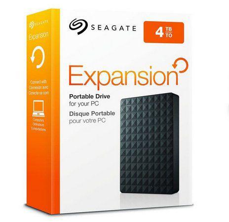 HD Seagate USB Externo Expansion 4TB USB 3.0