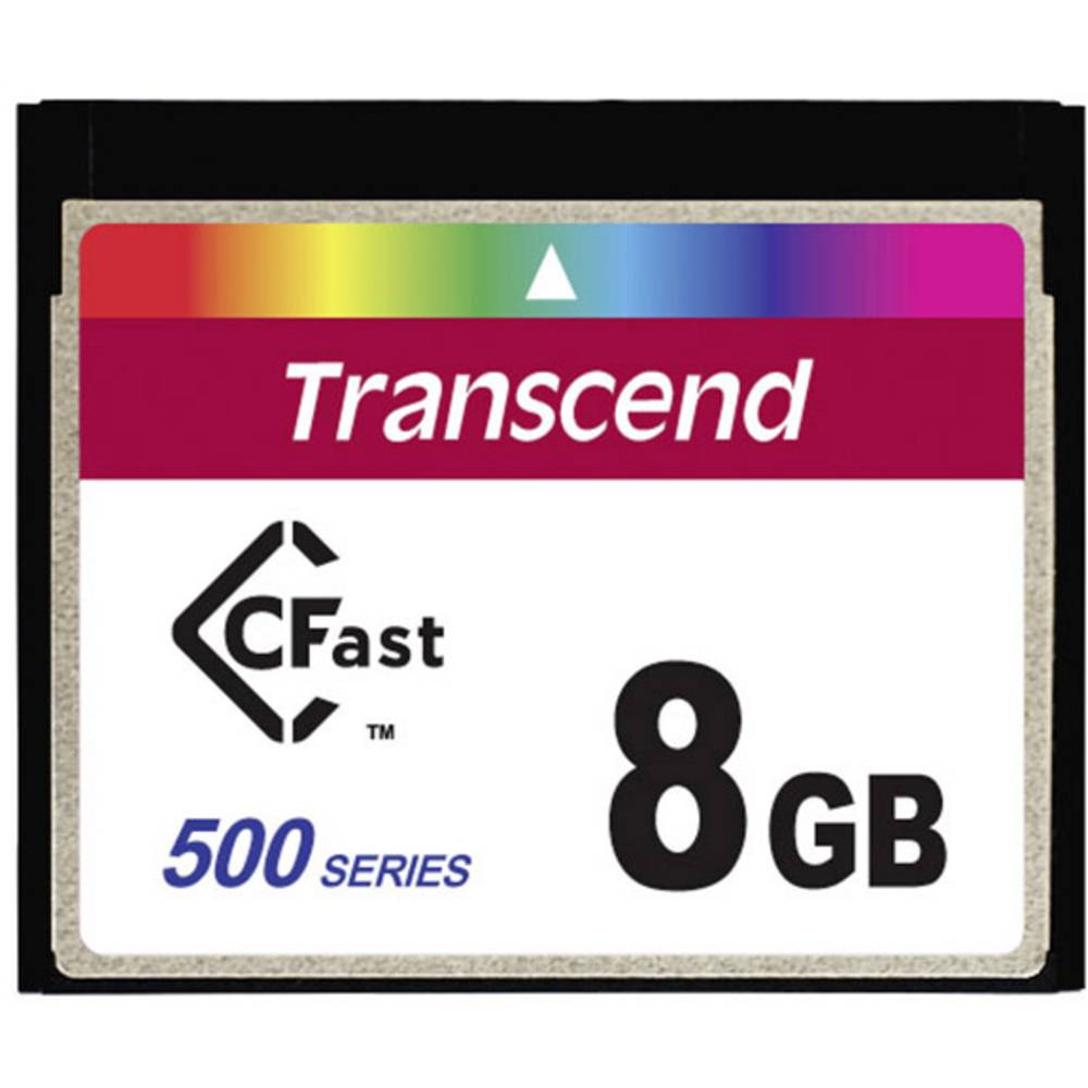 INDUST TEMP CFAST CARD 8GB TS8GCFX500 Industrial Grade
