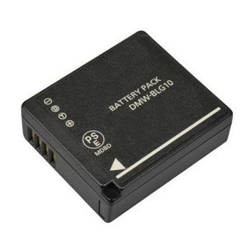 Kit 1 BATERIA + Carregador DUPLO DMW-BLG10 Para Panasonic