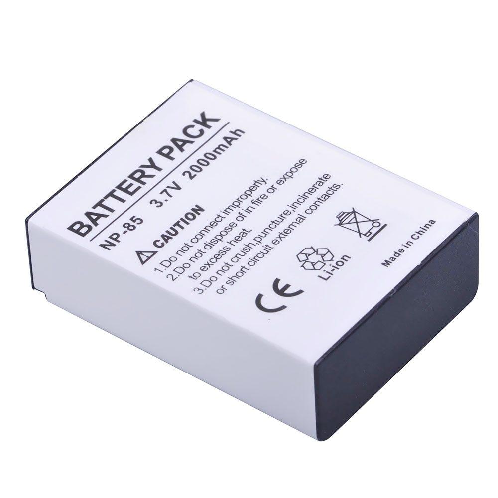 KIT 1 Bateria NP-85 + Carregador para Fuji Sl285 Sl300 Sl1000
