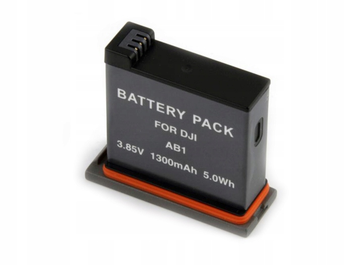 Kit Bateria  AB1 + Carregador Duplo AB1 Para DJI Osmo Action
