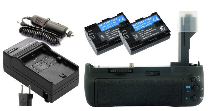 Kit BATTERY GRIP BG-E7 PARA CANON EOS 7D