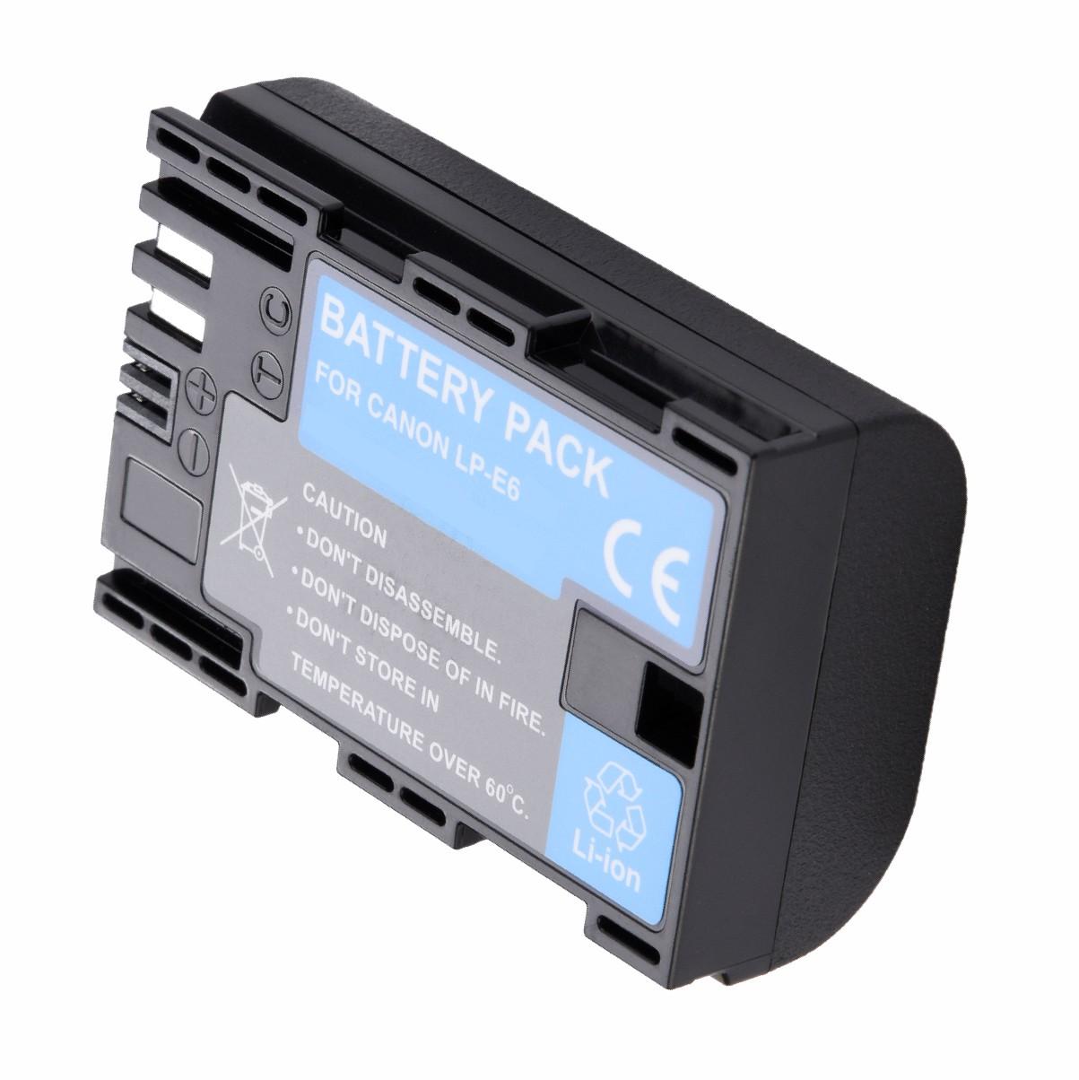 KIT Grip Para Blackmagic + 2 Baterias LP-E6 + Carregador
