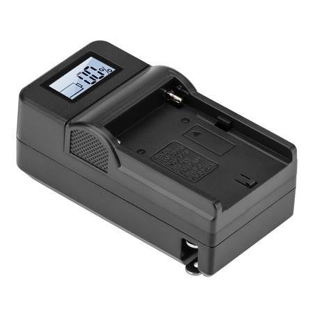 Carregador LCD BC-F970A, NP-F970, F550 F770 Para Sony C/NF