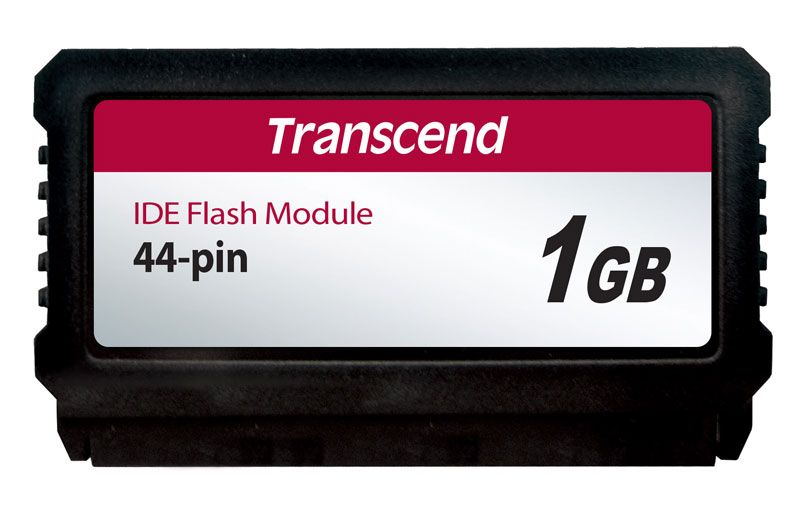 Módulo IDE Flash DOM 44 Pinos PATA 1GB Transcend (Vertical)