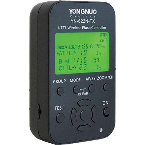 Rádio Flash Yongnuo YN622N-TX PARA NIKON