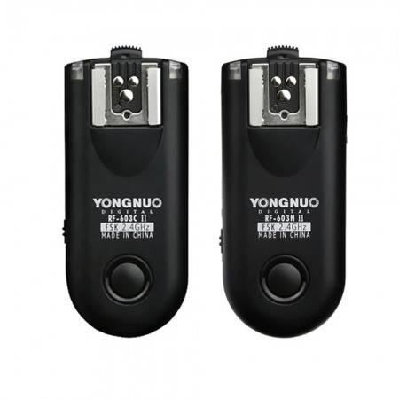 YONGNUO FLASH SPEEDLITE RF603 II P/ CANON