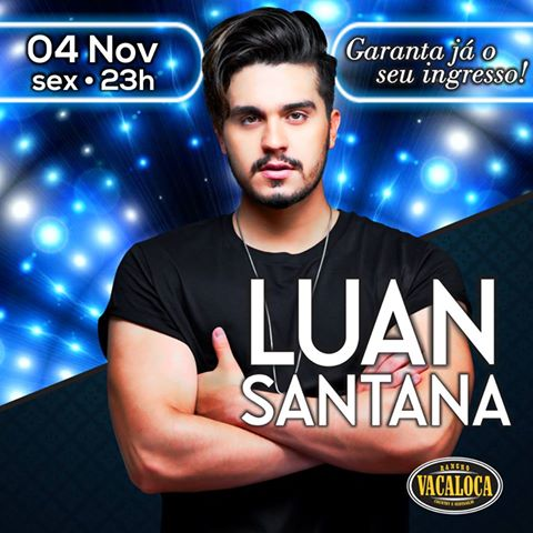 Luan Santana - 04/11/16 - Mogi das Cruzes - SP - TKINGRESSOS
