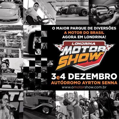 O Motor Show - 03 e 04/12/16 - Londrina - PR - TKINGRESSOS