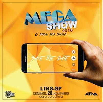 Mega Show 2016 - 20/11/16 - Lins - SP - TKINGRESSOS