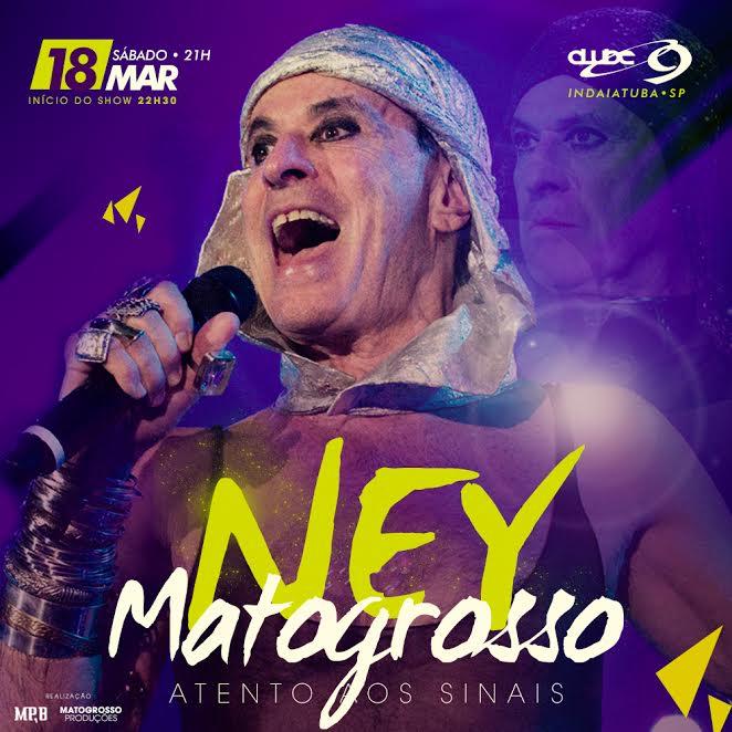 Ney Matogrosso - 18/03/17 - Indaiatuba / SP