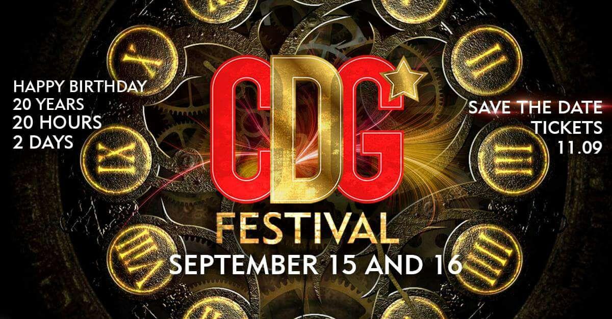 CDG Festival 20 anos - Cervejaria do Gordo - 15/09/17 e 16/09/17 - Lorena - SP - TKINGRESSOS