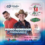 Pedro Henrique & Fernando - 03/09/16 - Catanduva - SP