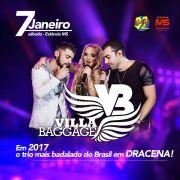 Villa Baggage - 07/01/17 - Dracena - SP