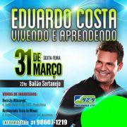 Eduardo Costa - 31/03/17 - Belo Horizonte - MG