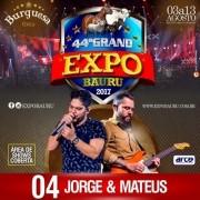 Jorge & Mateus - 04/08/17 - Bauru - SP
