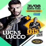 Lucas Lucco + MC G15 - 31/08/17 - Mogi das Cruzes - SP