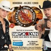 Mayck & Lyan - Costelão Fogo de Chão - 03/12/17 - Franco da Rocha - SP