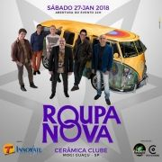 Roupa Nova - Via Brasil - 27/01/18 - Mogi Guaçu - SP