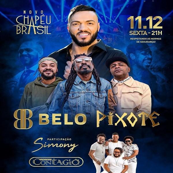 Belo e Pixote - Chapéu Brasil - 11/12/20 - Sumaré / SP