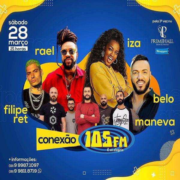 Conexão 105 FM - 28/03/20 - Campinas - SP