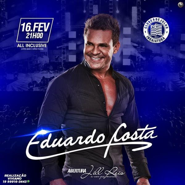 Eduardo Costa - 16/02/19 - Indaiatuba - SP
