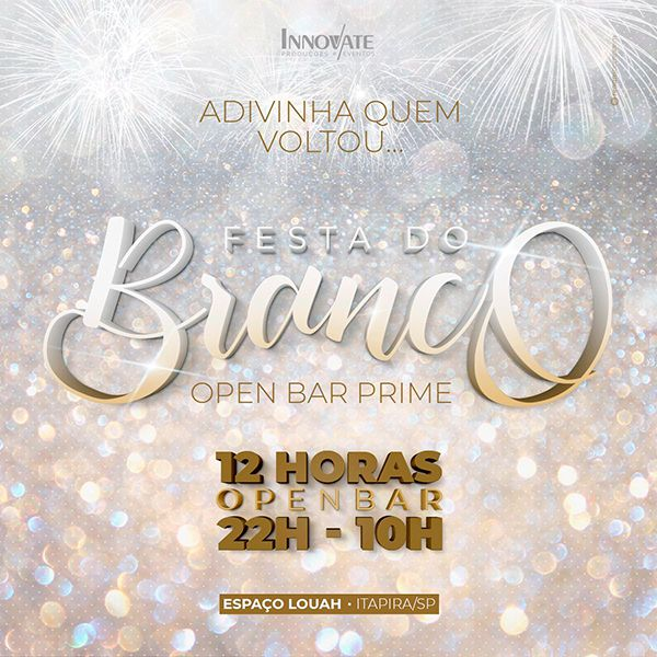 Festa do Branco - 31/12/19 - Itapira - SP