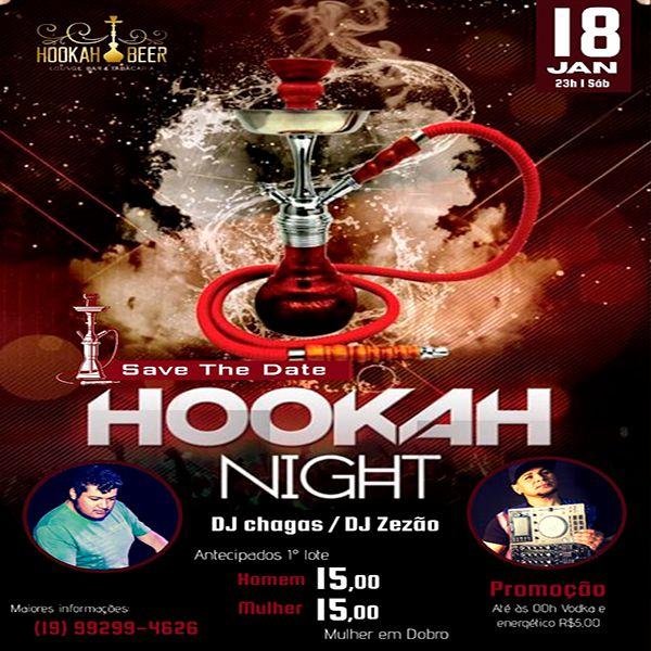 Hookah Night - 18/01/20 - Leme - SP
