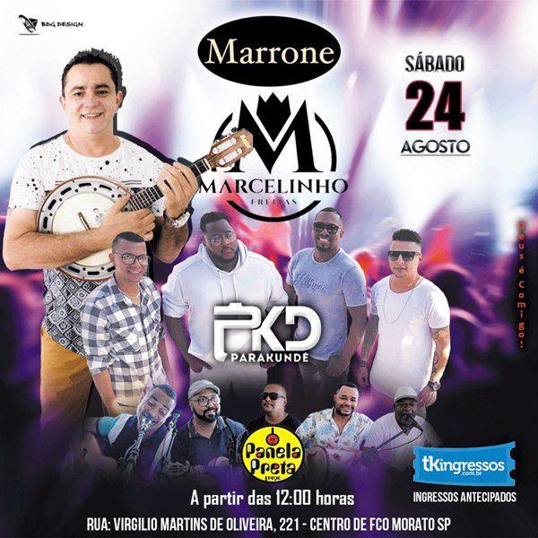 Marcelinho Sem Compromisso - 24/08/19 - Francisco Morato - SP