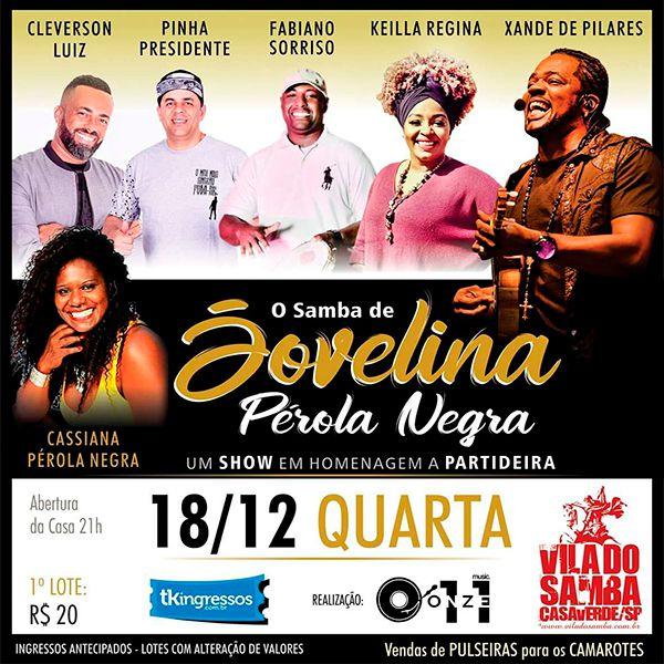 O Samba de Jovelina - Vila do Samba - 18/12/19 - São Paulo - SP