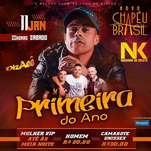 Primeira do Ano - Neguinho do Kaxeta - Chapéu Brasil - 11/01/20 - Sumaré - SP