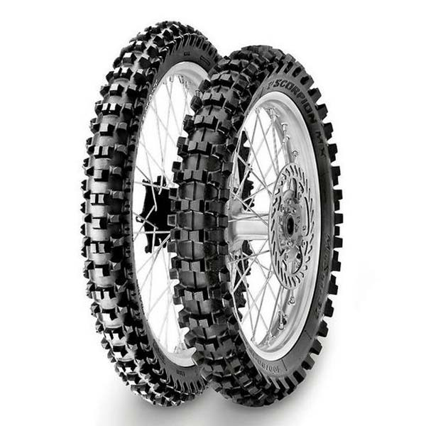 PNEU PIRELLI TRASEIRO 110/90X19 MIDSOFT 32 - MOTOCROSS / ENDURO / TRILHA / OFF ROAD