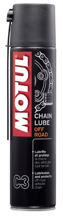 OLEO MOTUL LUBRIFICANTE CORRENTE CHAINLUB OFF ROAD SPRAY 0,4 SUPER
