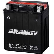 BATERIA BRANDY 6AMP (BY TX7L-BS) - TITAN 150S/TW/FAZER/BIZ 12E/CB300