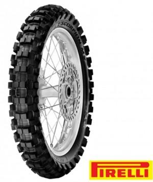 PNEU PIRELLI TRASEIRO 110/90X19 MX EXTRA X - OFF ROAD / MOTOCROSS/ ENDURO / TRILHA