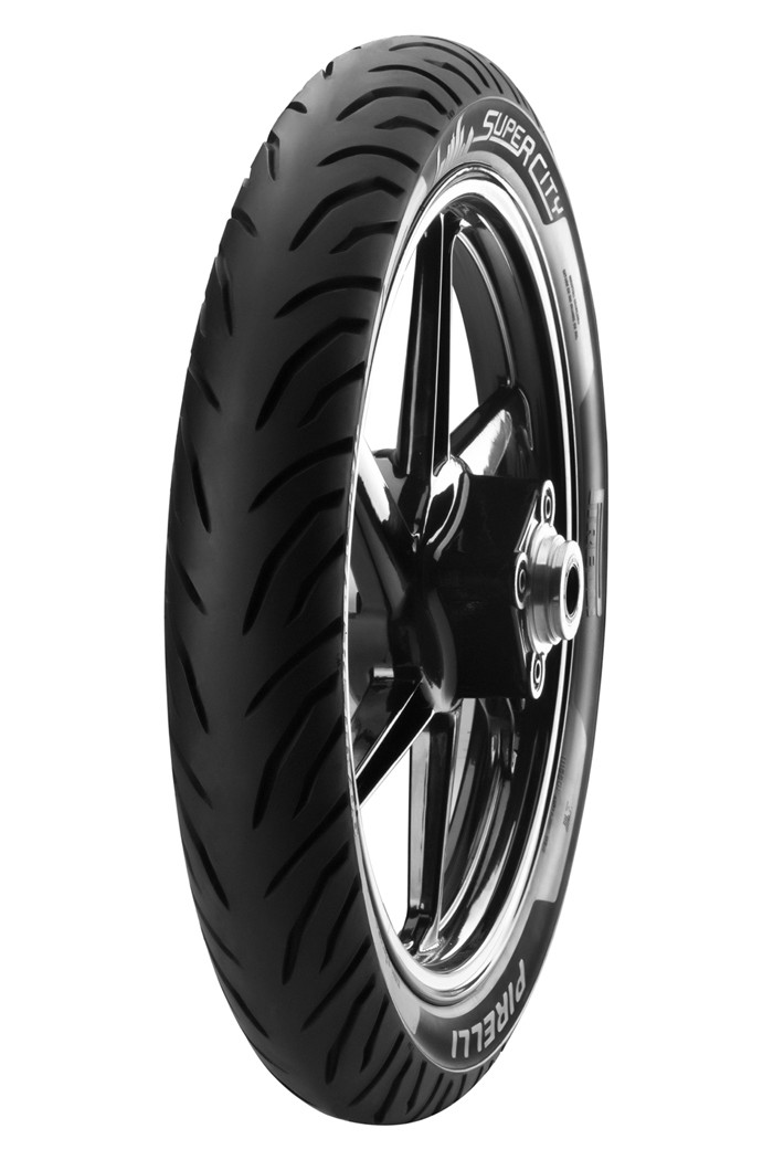 PNEU PIRELLI DIANTEIRO 275X18 SUPER CITY S/CAMARA - TITAN / FAN / YES / YBR / FACTOR HONDA