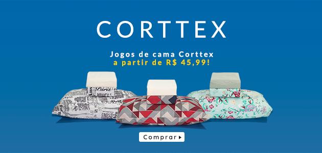 jogos de cama da corttex por até r$ 45,99