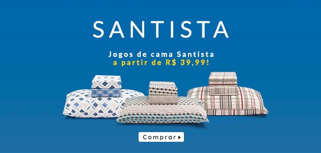 jogos de cama da santista a partir de r$ 39,99