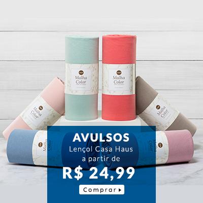 lençol avulso casa haus a partir de r$ 24,99