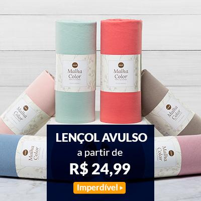 Imperdível   Lençol Avulso a partir de R$ 24,99