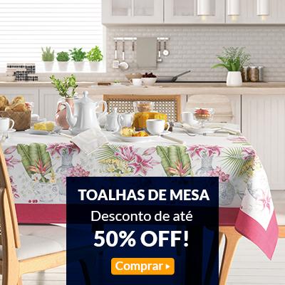 toalha de mesa   aqui é mais barato!