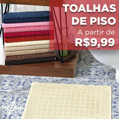 toalhas de piso