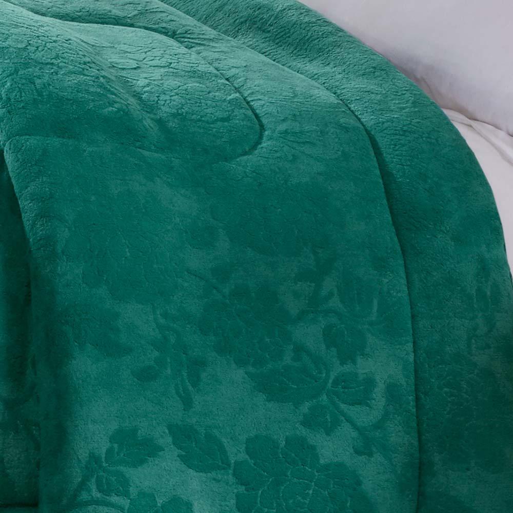 Cobertor Corttex Casal Home Design Alaska Poeme Esmeralda